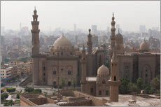 Adesivo murale  Mosque of Sultan Hassan in Cairo old town, Cairo, Egypt, North Africa, Africa - Martin Child