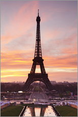 Adesivi murali  Eiffel Tower at sunrise - Markus Lange