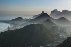 Adesivo murale  View from the Sugarloaf - Michael Runkel