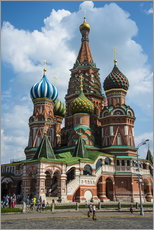 Stampa su plexi-alluminio  St. Basil's Cathedral, Moscow - Michael Runkel