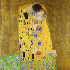 Adesivi murali  The kiss - Gustav Klimt