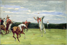 Adesivo murale  Polo players in Jenischpark - Max Liebermann