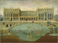 Adesivo murale  Chateau de Versailles from the Garden Side - French School