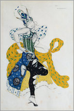 Adesivi murali  Sketch for the ballet 'La Peri' - Leon Nikolajewitsch Bakst