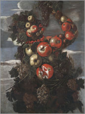 Stampa su plexi-alluminio  Autumn (An Allegory of the Four Seasons) - Giuseppe Arcimboldo