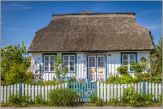 Adesivo murale  Thatched cottage on the Baltic Sea - Christian Müringer