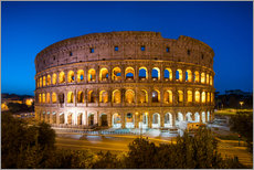 Adesivo murale  Colosseum in Rome at night - Jan Christopher Becke