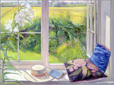 Stampa su plexi-alluminio  Reading window seat - Timothy Easton