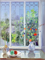 Adesivo murale  Still life in the window - Timothy Easton