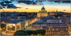 Adesivo murale  Roma St. Peters dome - Fine Art Images