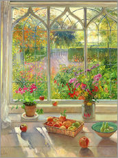 Adesivi murali  Overlooking the garden - Timothy Easton