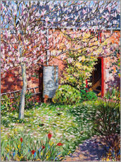 Stampa su plexi-alluminio  Under the Magnolia - Tilly Willis