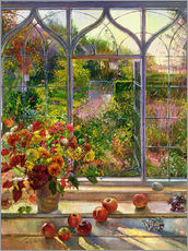 Adesivo murale  Vista autunnale - Timothy Easton