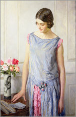 Stampa su plexi-alluminio  Sì o no - William Henry Margetson