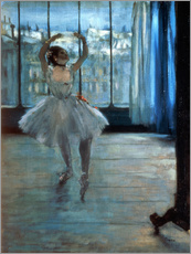 Adesivo murale  Dancer in Front of a Window - Edgar Degas