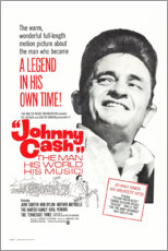 Poster Premium  Johnny Cash! The Man, His World, His Music - Entertainment Collection
