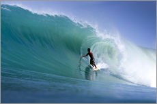 Adesivi murali  Surfing the dream wave - Paul Kennedy