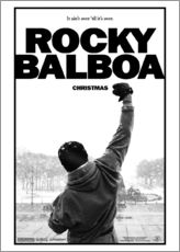 Stampa su plexi-alluminio  Rocky Balboa - Entertainment Collection