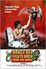 Stampa su plexi-alluminio  Bruce Lee Fights Back from the Grave - Entertainment Collection