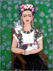 Madalena Lobao-Tello - Frida cat lover