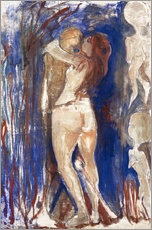 Adesivi murali  Death and Life - Edvard Munch