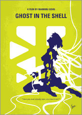 Adesivo murale  No366 My Ghost in the Shell minimal movie poster - chungkong