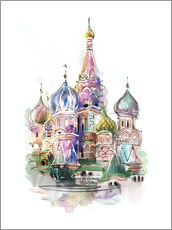 Adesivo murale  St. Basil's Cathedral