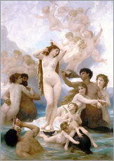 Adesivo murale  Nascita di Venere - William Adolphe Bouguereau