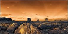 Adesivo murale  Kelly Monument Valley - Michael Rucker