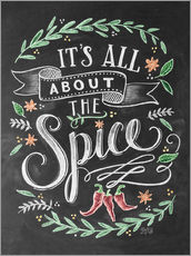 Stampa su plexi-alluminio  It's all about the Spice - Lily & Val