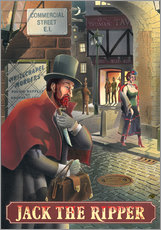 Adesivo murale  27105 Jack the Ripper - Peter Green's Pub Signs Collection
