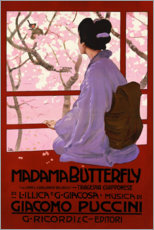 Poster Premium Madama Butterfly, Puccini