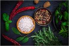 Stampa su plexi-alluminio  sharp kitchen