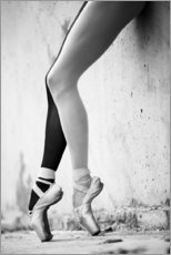 Adesivo murale  Ballet in black and white