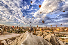 Adesivo murale  Balloon spectacle Cappadocia - Turkey - Achim Thomae