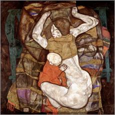 Adesivo murale Young mother