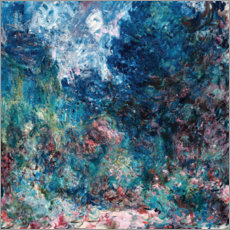 Stampa su alluminio  The house of the artist - Claude Monet