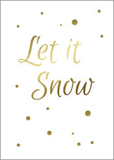 Stampa su plexi-alluminio  Let It Snow - Finlay and Noa