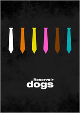 Stampa su plexi-alluminio  Reservoir Dogs - Minimal Film Movie Tarantino Alternative - HDMI2K