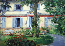 Adesivi murali  Country house in Rueil - Edouard Manet
