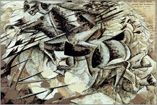 Adesivo murale The Charge of the Lancers
