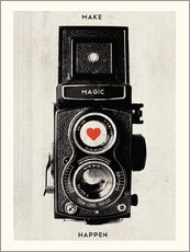 Adesivi murali  Vintage retro camera photographic art print - Nory Glory Prints