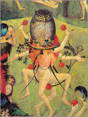 Adesivo murale  Garden of Earthly Delights, mankind before the Flood (detail) - Hieronymus Bosch