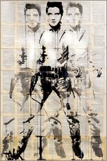 Adesivo murale  Elvis after Andy - Loui Jover