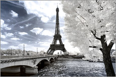 Adesivi murali  Another Look - Paris Eiffel Tower - Philippe HUGONNARD