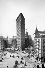 Adesivo murale New York City 1920, Flatiron Building