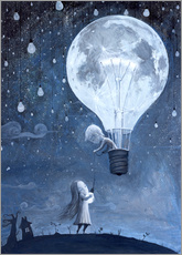 Adesivo murale  He gave me the brightest star - Adrian Borda