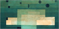 Adesivi murali  Firmament Above the Temple - Paul Klee