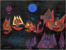 Paul Klee - Ships in the dark