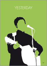 Adesivi murali  MY PAUL MCCARTNEY Minimal Music poster - chungkong